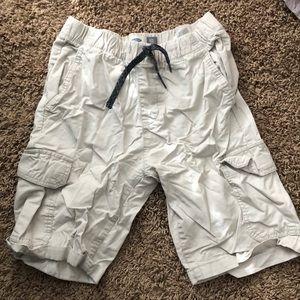 White youth boy shorts